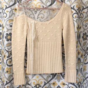 Vintage Catherine Malandrino Alpaca&Lace Sweater